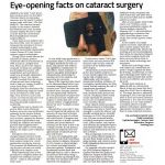 Eye-opening facts on cataract surgery