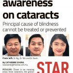 Need for more awareness on Cataracts