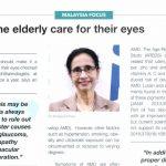 Help the elderly care for their eyes