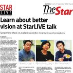 Learn about better vision at StarLIVE talk