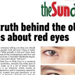 The truth behind the old myths about red eyes